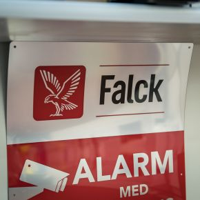 our high quality alarm signs are durable for both indoors and outdoors use and meet all standards by being either screen printing or digitally printed