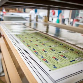 one of our main competence is graphic overlays and we can assist you in the creation and development of graphic panel and fascias.